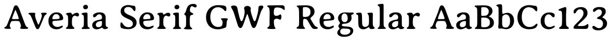 Avería Serif GWF