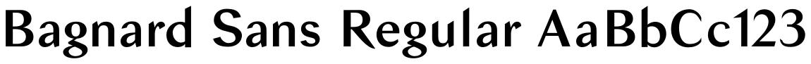 Bagnard Sans