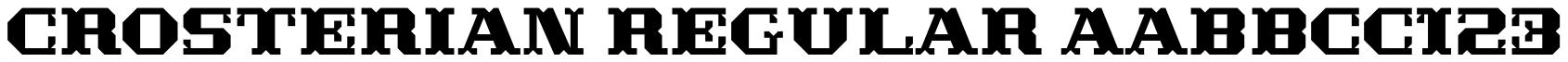 Crosterian