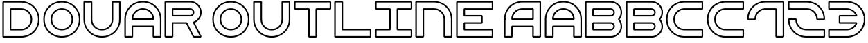 Douar Outline