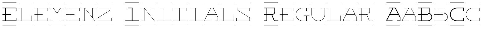 Elemenz Initials