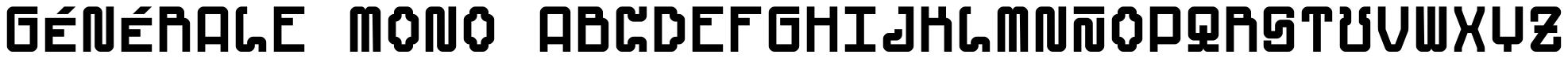 Générale Mono