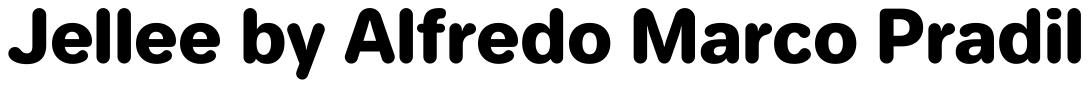 Jellee Typeface