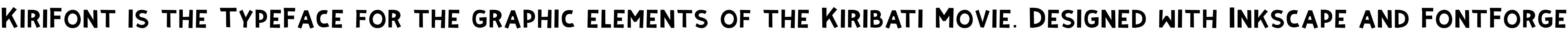 KiriFont
