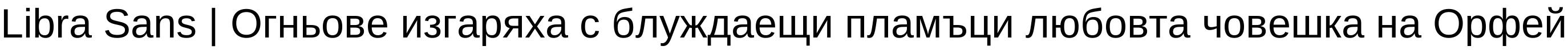 Libra Sans