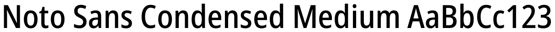 Noto Sans Condensed