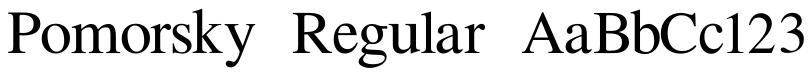 Pomorsky Unicode