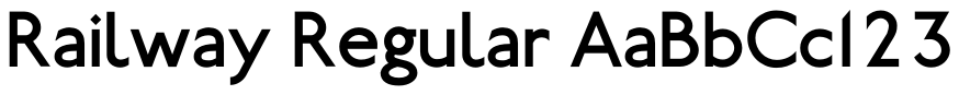 Railway Sans