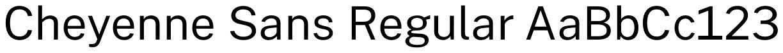 Cheyenne Sans (Legacy)