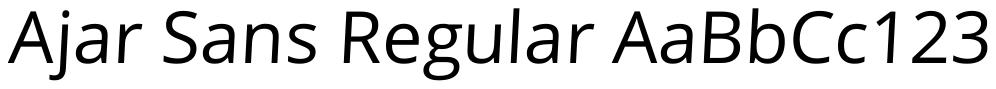 Ajar Sans