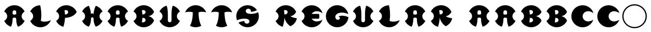 Alphabutts Initials