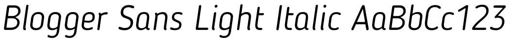 Blogger Sans-Light Italic.otf