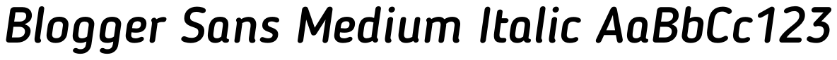 Blogger Sans-Medium Italic.otf