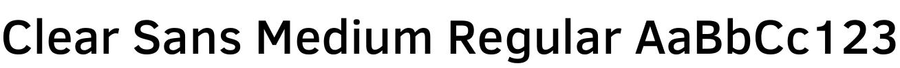 Clear Sans