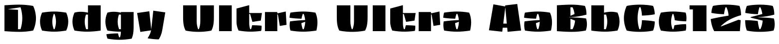 Dodgy Ultra