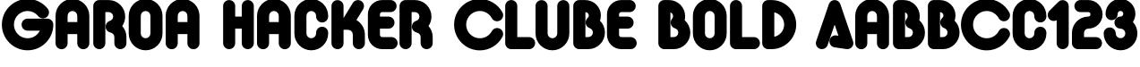 Garoa Hacker Clube Bold