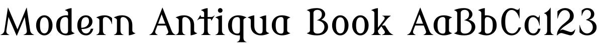 ModernAntiqua