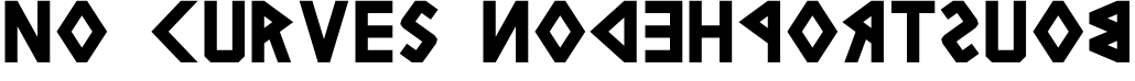 NoCurvesBoustrophedon