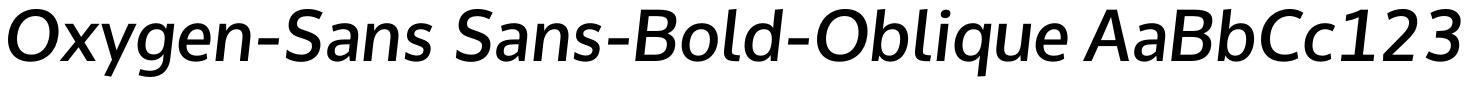 Oxygen Sans (KDE)
