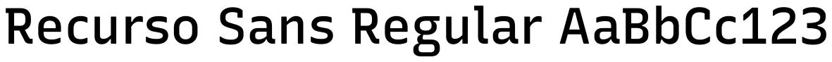 Recurso Sans