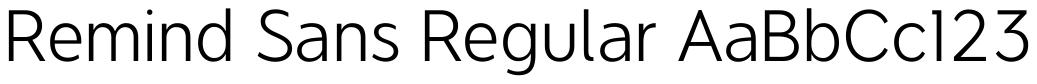 Remind Sans