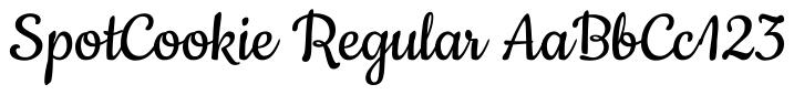 SpotCookie-Regular