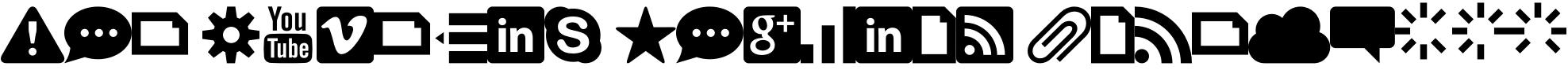 symbols x