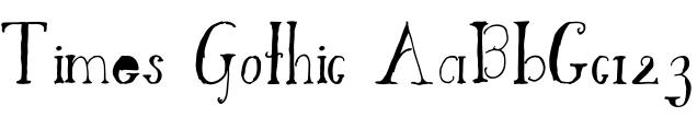 TimesGothic