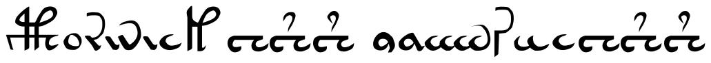 VOYNICH Font